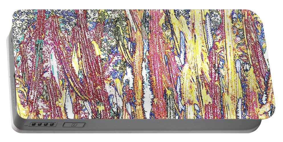 Forest Portable Battery Charger featuring the photograph Brimstone Forest by Ian MacDonald