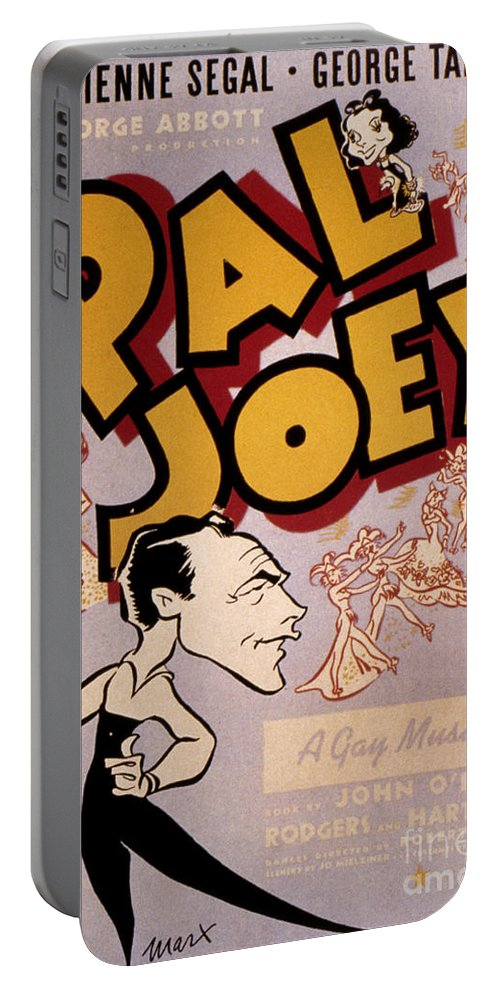 1940 Portable Battery Charger featuring the photograph Broadway: Pal Joey, 1940 by Granger