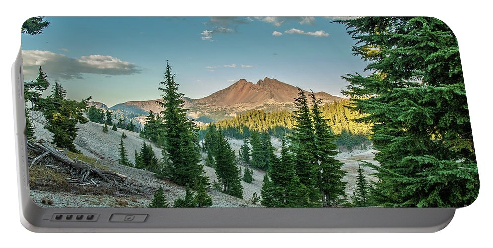 Cascades Portable Battery Charger featuring the photograph Broken Top, Oregon by Bernd Billmayer