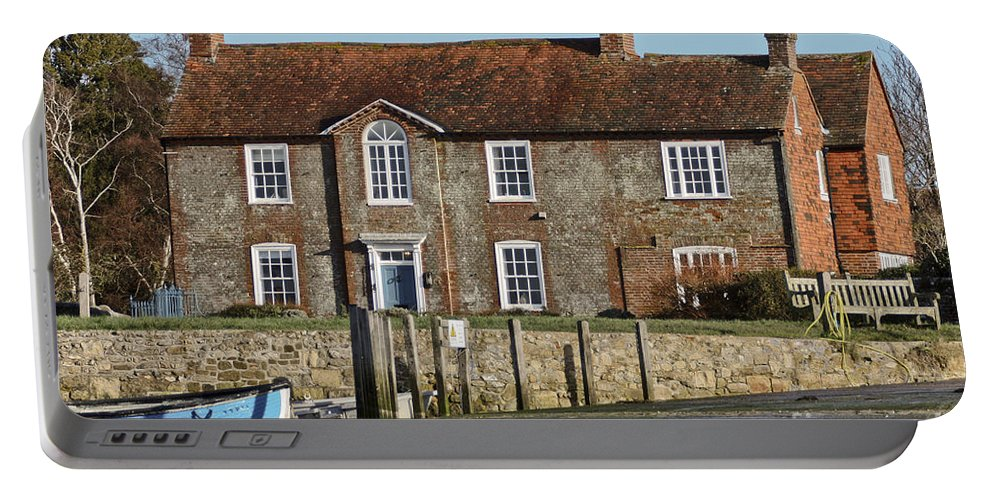 Bosham Portable Battery Charger featuring the photograph Brook House Bosham by Terri Waters