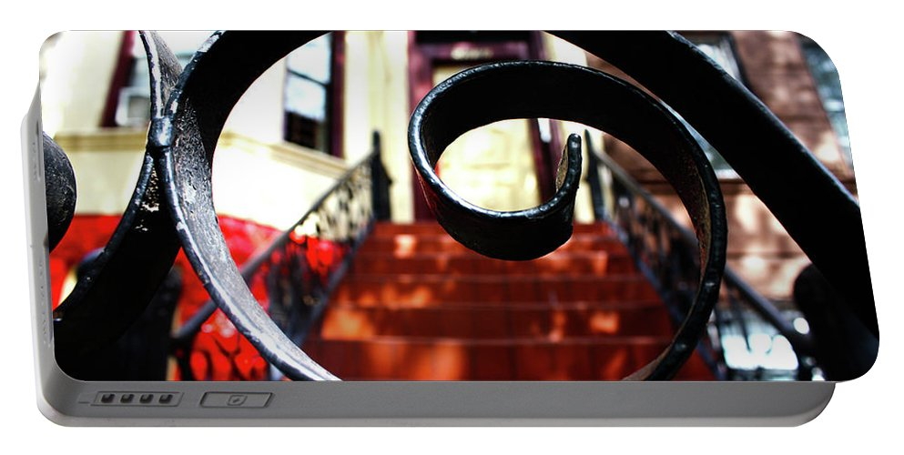 Cody Portable Battery Charger featuring the photograph Brownstone 3 by Cody Norris