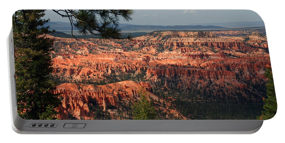 Photography Portable Battery Charger featuring the photograph Bryce Canyon II by Susanne Van Hulst