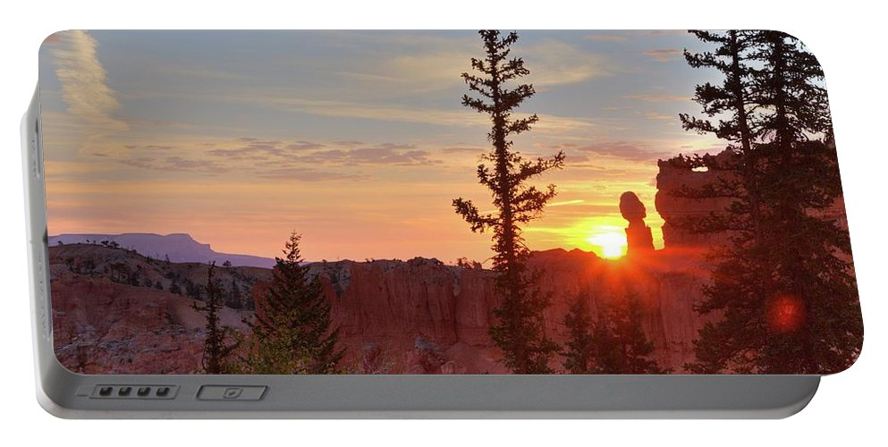Bryce Canyon National Park Portable Battery Charger featuring the photograph Bryce Canyon Sunrise by Jim Allsopp
