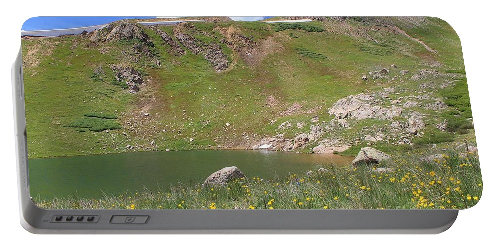 Buckeye Lake Portable Battery Charger featuring the photograph Buckeye Lake 3 by Tonya Hance
