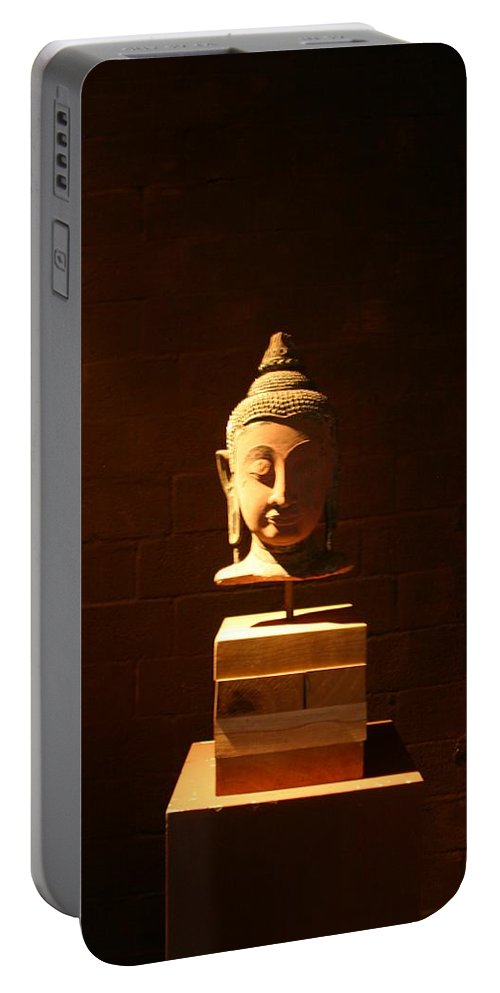Buddhism Portable Battery Charger featuring the photograph Buddhism In Belgium by Minaz Jantz