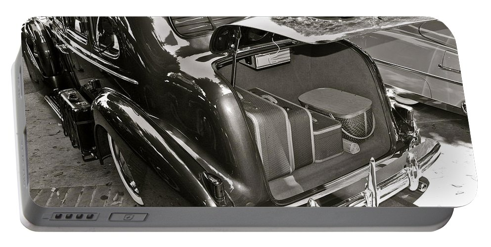 Photograph Portable Battery Charger featuring the photograph Buick Road Trip by Gwyn Newcombe