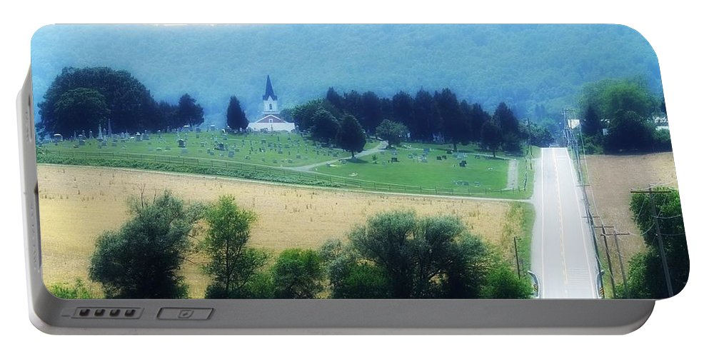 Burkittsville Portable Battery Charger featuring the photograph Burkittsville Maryland by Lisa Victoria Proulx