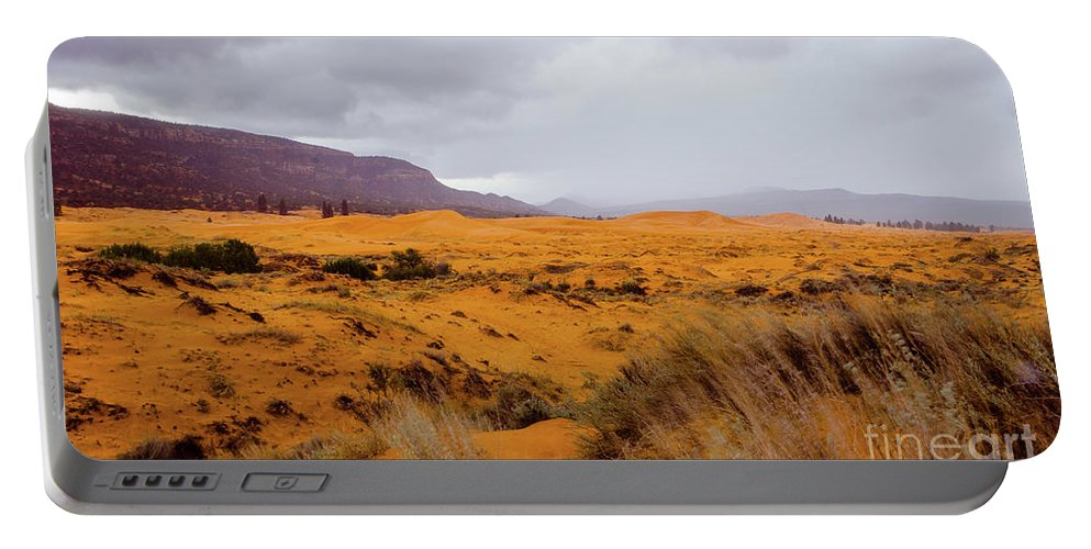 Paria Portable Battery Charger featuring the photograph Burnt Earth by Jerry Sellers