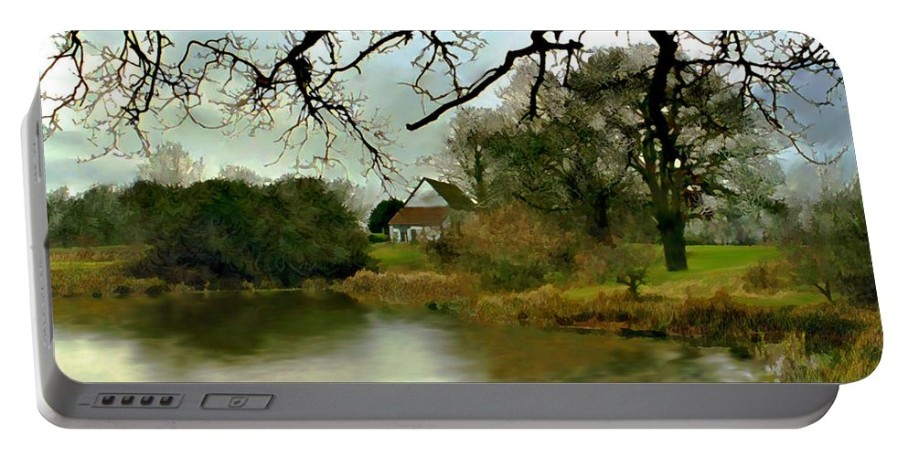 England Portable Battery Charger featuring the photograph Butlers Retreat Epping Forest Uk by Kurt Van Wagner