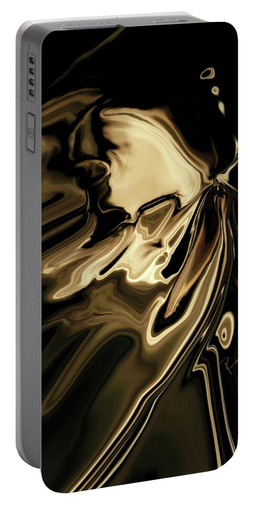 Butterfly Portable Battery Charger featuring the digital art Butterfly 2 by Rabi Khan