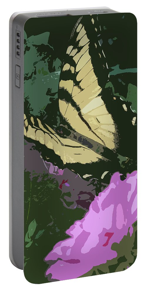 Butterfly Portable Battery Charger featuring the photograph Butterfly's Delight by Trish Tritz