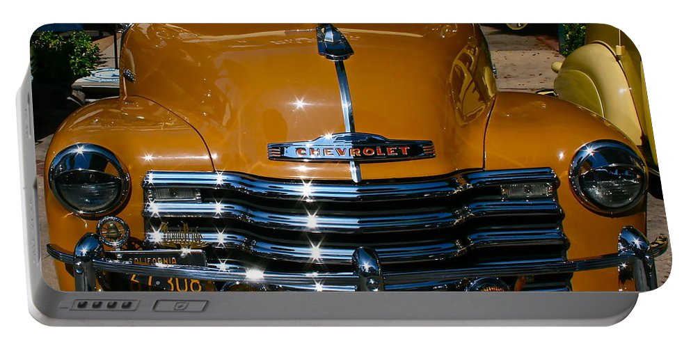 Photograph Of Chevrolet Portable Battery Charger featuring the photograph Butterscotch by Gwyn Newcombe