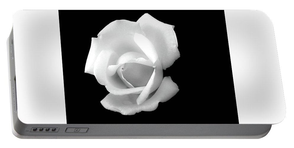 Flowers Portable Battery Charger featuring the photograph By Any Other Name by Barbara Griswold-Kridner