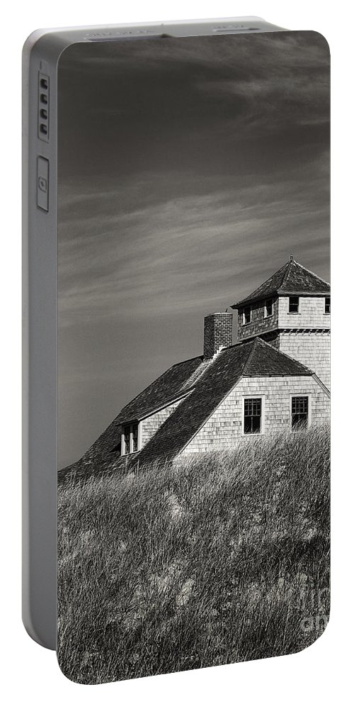 B + W Portable Battery Charger featuring the photograph By The Beach by John Greim