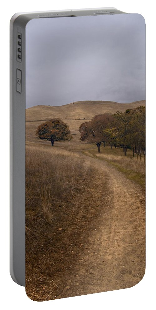 Landscape Portable Battery Charger featuring the photograph California Winter by Karen W Meyer