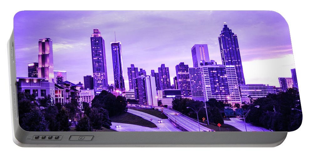 Atlanta Portable Battery Charger featuring the photograph Calm After The Storm by Kennard Reeves