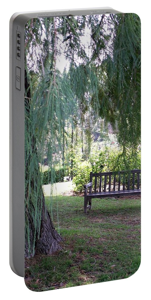 Landscape Portable Battery Charger featuring the photograph Calm by Amy Fose