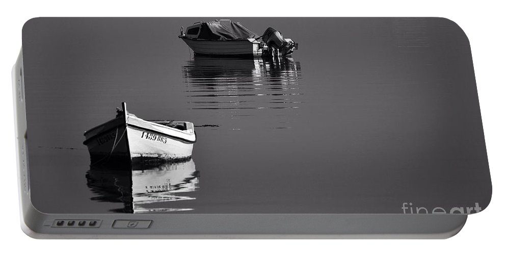Sea Portable Battery Charger featuring the photograph Calm Waters by Rui Militao