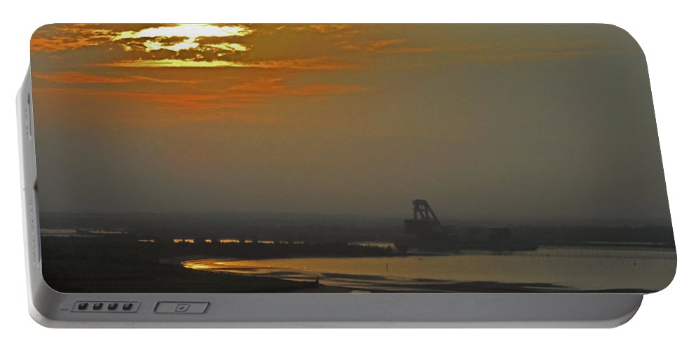 Cambodia Portable Battery Charger featuring the photograph Cambodian Sunsets 1 by Ron Kandt