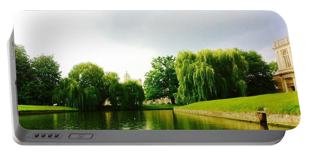 River Cam Portable Battery Charger featuring the photograph Camriver by Sana Butt