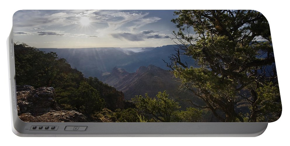 Canyon Portable Battery Charger featuring the photograph Canyon Afternoon by John Christopher