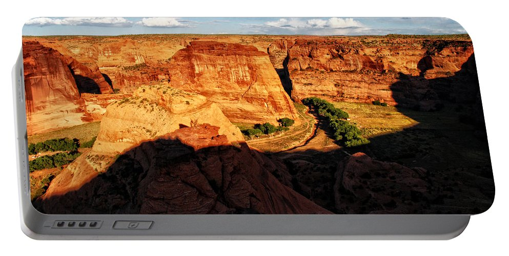 Canyon De Chelly Portable Battery Charger featuring the photograph Canyon De Chelly 2 by Ingrid Smith-Johnsen