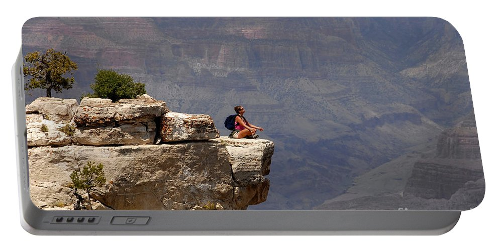 Grand Canyon National Park Arizona Portable Battery Charger featuring the photograph Canyon Thoughts by David Lee Thompson
