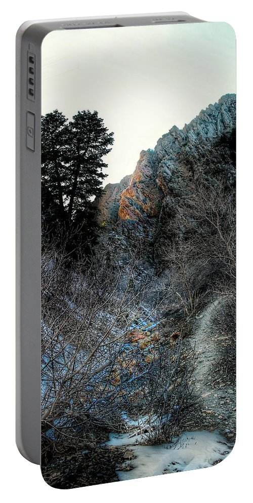 Canyon Portable Battery Charger featuring the photograph Canyon Walk by Buck Buchanan