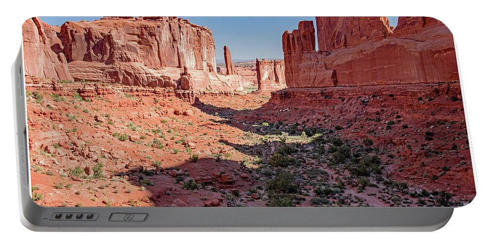Arches National Park Portable Battery Charger featuring the photograph Arches National Park, Moab, Utah by A Gurmankin