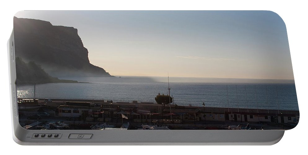 Mediterranean Portable Battery Charger featuring the photograph Cap Canaille by Sam Gish