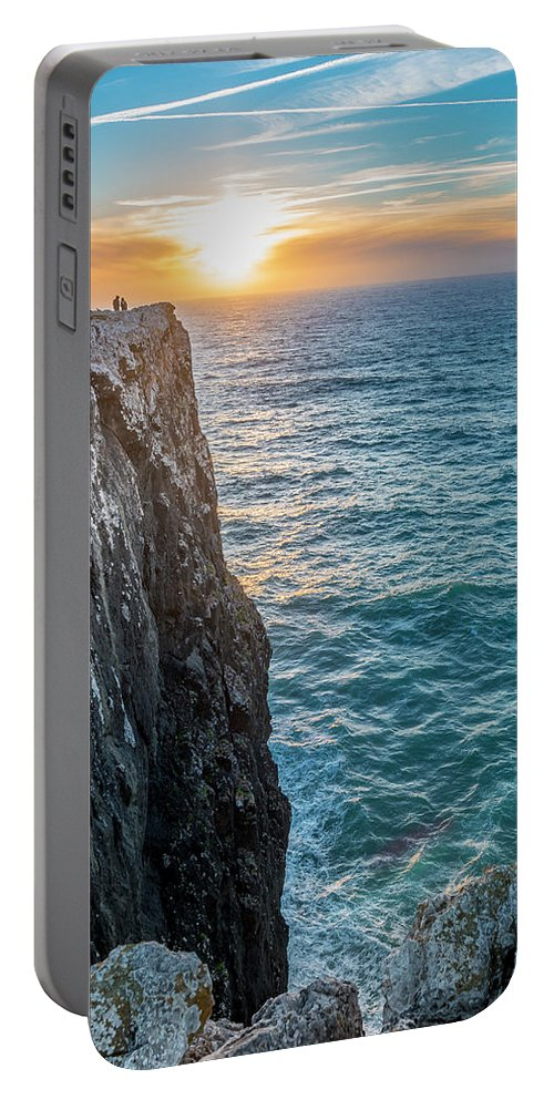Best City Portable Battery Charger featuring the photograph Cape Vincent, Portugal by Mangesh Bhagat