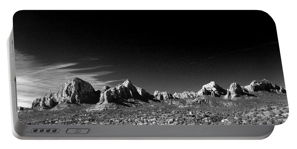 Sedona Portable Battery Charger featuring the photograph Capital Dome 3 by Randy Oberg