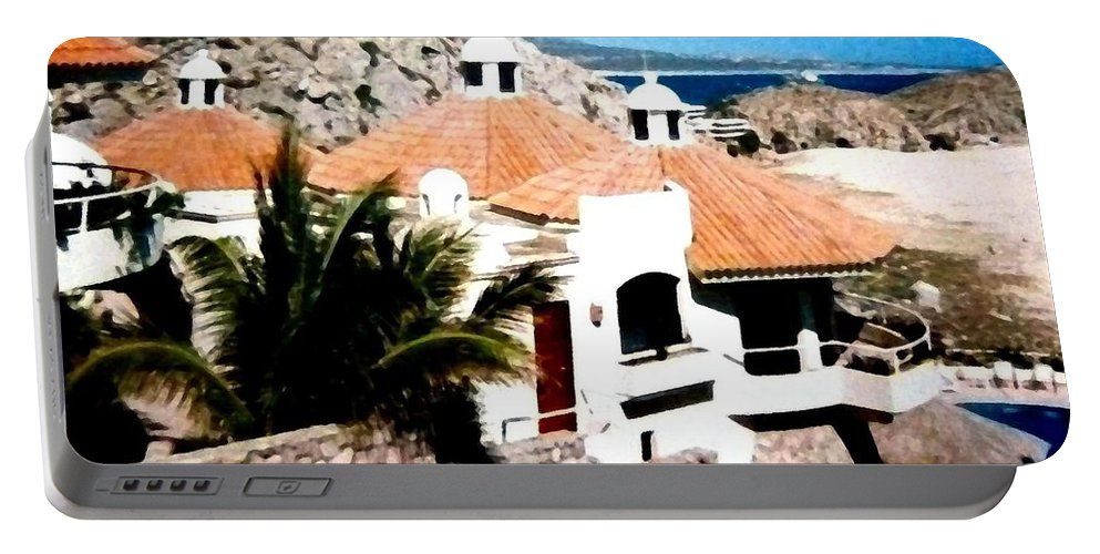 Mexico Portable Battery Charger featuring the photograph Captivating Cabo by Will Borden