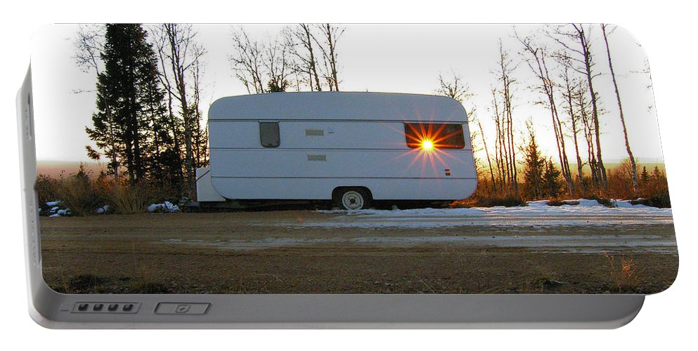 Caravan Portable Battery Charger featuring the photograph Caravan by Are Lund