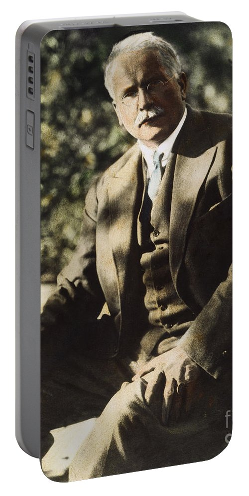 20th Century Portable Battery Charger featuring the photograph Carl G. Jung by Granger