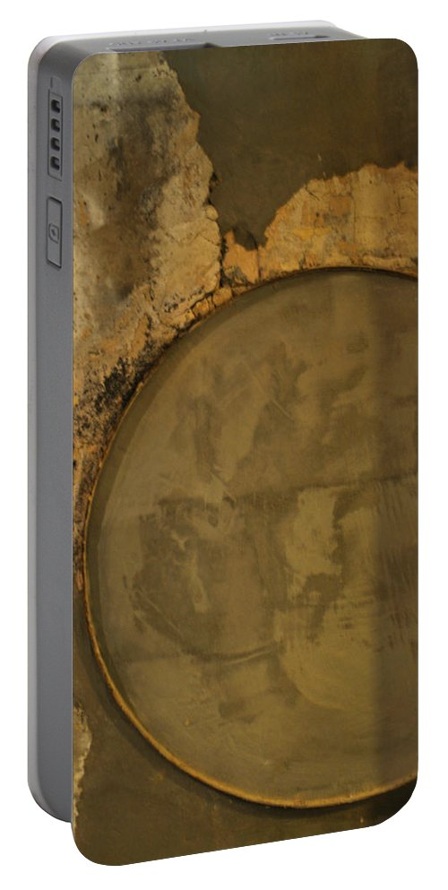 Concrete Portable Battery Charger featuring the photograph Carlton 3 - Abstract Concrete by Tim Nyberg