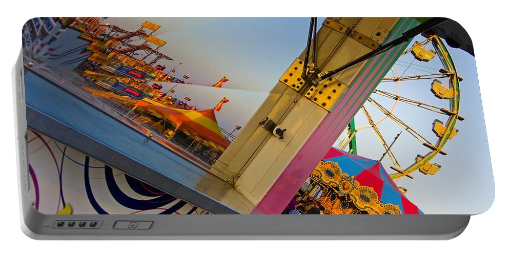 Carnival Portable Battery Charger featuring the photograph Carnival 1 by Skip Hunt