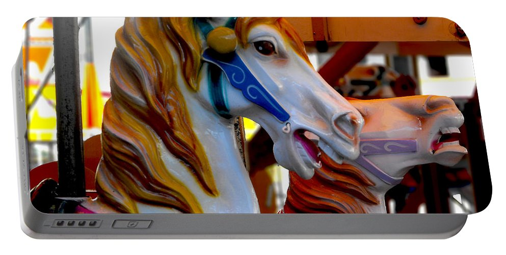 Carnival Portable Battery Charger featuring the photograph Carnival by Kristie Bonnewell