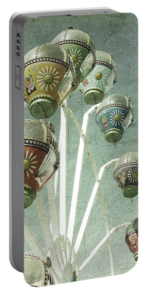 Amusement Portable Battery Charger featuring the photograph Carnivale by Andrew Paranavitana