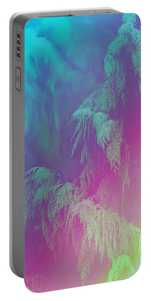 Trees Portable Battery Charger featuring the photograph Cascade by Ian MacDonald
