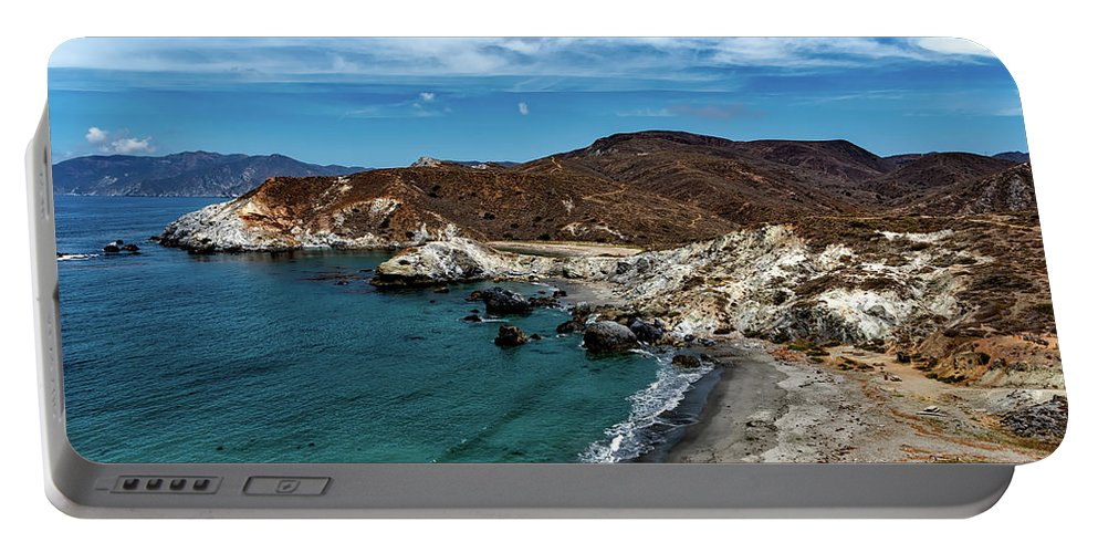 Catalina Island Portable Battery Charger featuring the photograph Catalina Island by Mountain Dreams