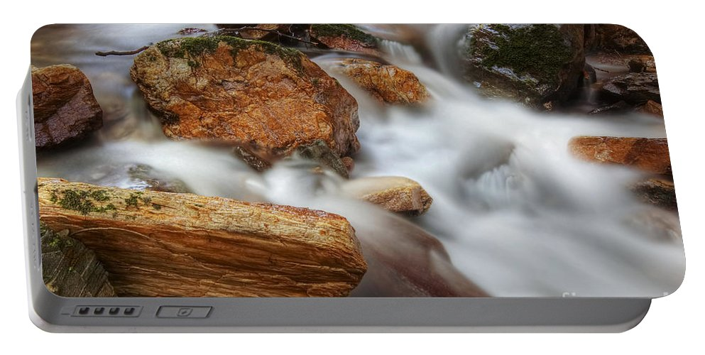 Water Portable Battery Charger featuring the photograph Cataracts by Michal Boubin