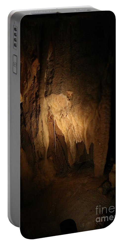 Natural Portable Battery Charger featuring the photograph Cave 15 by Lynn Michelle