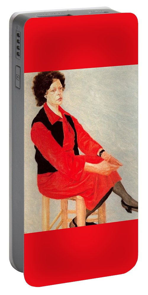 Clothing Portable Battery Charger featuring the digital art Cawpq3cp Avigdor Arikha by Eloisa Mannion