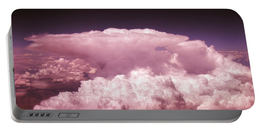 Cloud Photographs Portable Battery Charger featuring the photograph Cb1.1 by Strato ThreeSIXTYFive