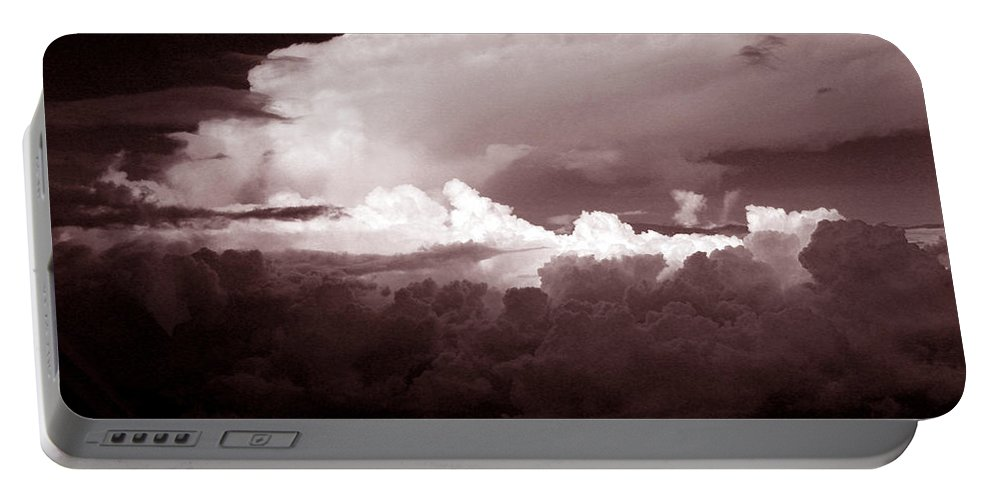 Cloud Images Portable Battery Charger featuring the photograph Cb1.2 by Strato ThreeSIXTYFive