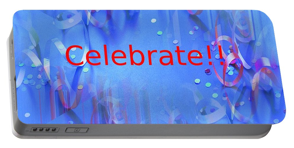 Celebrate Portable Battery Charger featuring the photograph Celebrate 1 by Tim Allen