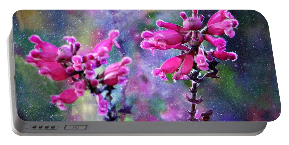 Celestial Blooms-2 Portable Battery Charger featuring the photograph Celestial Blooms-2 by Kathy M Krause