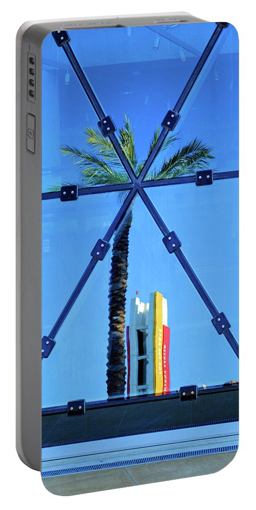 Palm Portable Battery Charger featuring the photograph Center Of The Palm by Jost Houk