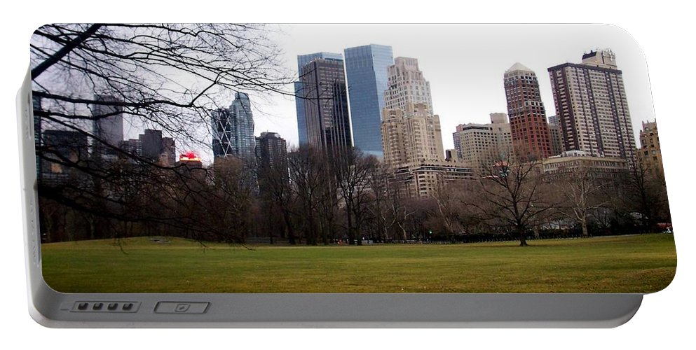 Central Park Portable Battery Charger featuring the photograph Central Park by Anita Burgermeister